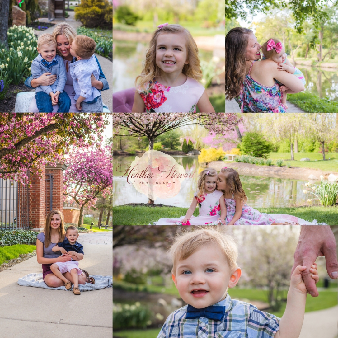 Spring Mini Photo Collage